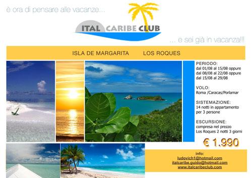 Vacanze In Venezuela, ISLA MARGARITA, Italcaribe