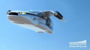 Auto Volante Elettrica Terrafugia-TF-X 1