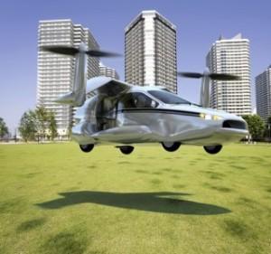 Auto Volante Elettrica Terrafugia-TF-X 2
