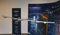 Solar Impulse modellino