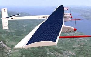 Solar impulse in volo