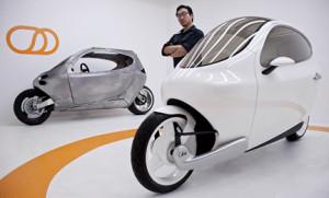 Lit_Motors-C1 scooter elettrico che non cade mai