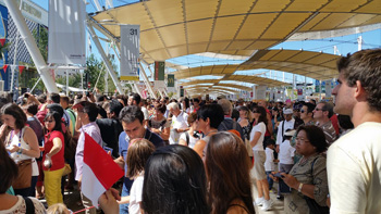 Indonesia National Day all'Expo Milano 2015 2