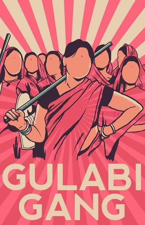 GULABI GANG guerriere in rosa