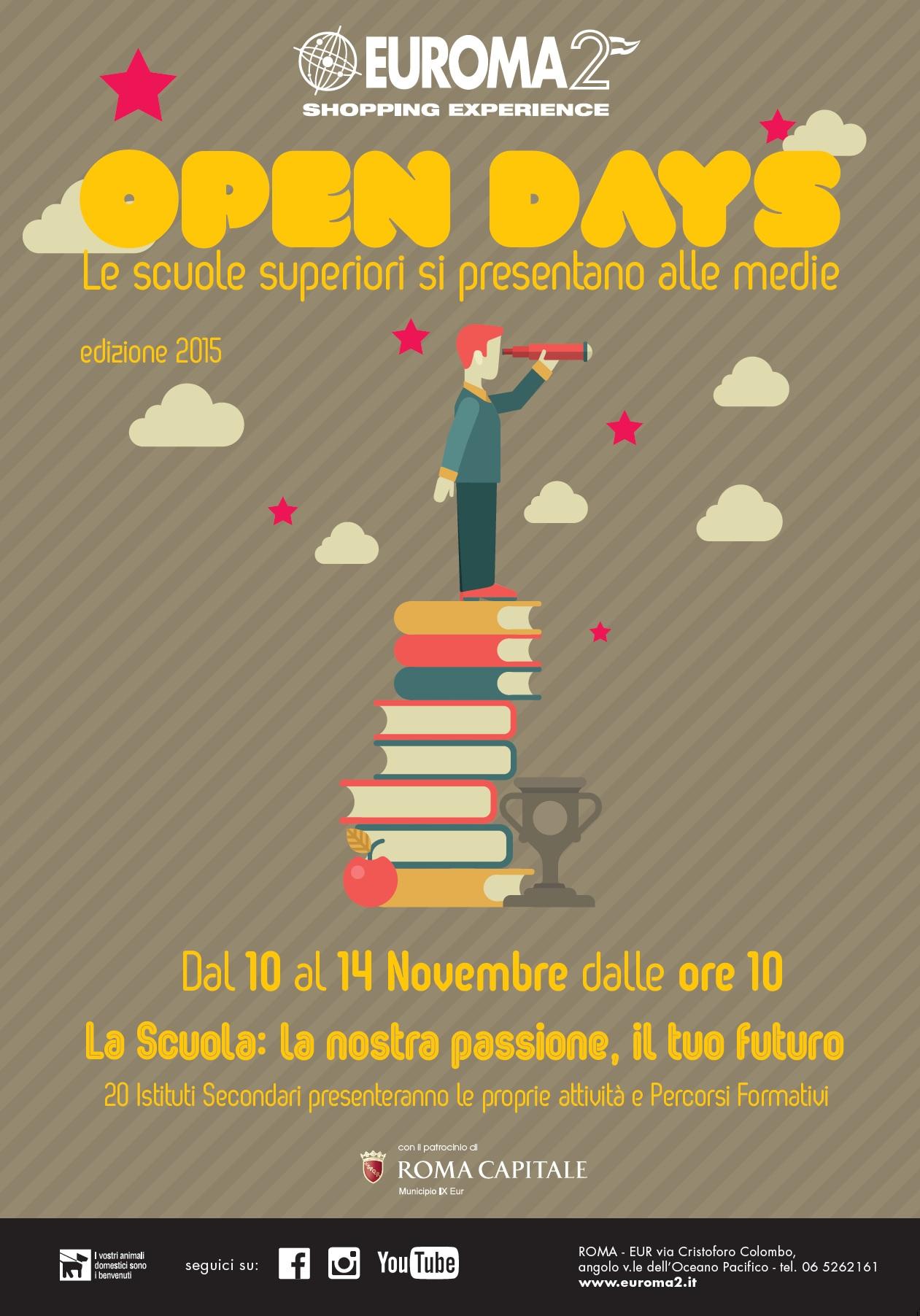 Locandina Open Days Roma