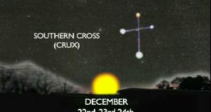 Croce del Sud solstizio d'inverno
