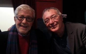 SCHEGGE D'AUTORE Il Maestro Ettore Scola e Renato Giordano