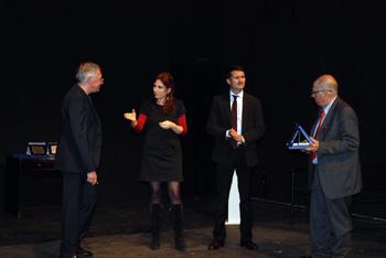 SCHEGGE D'AUTORE Premio come Miglio Spettacolo a Sara Calanna e Gioacchino Spinozzi