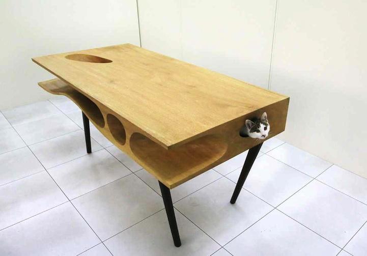 """CAT TABLE E L'ARCHITETTURA """"MICIO"""" FRIENDLY"""