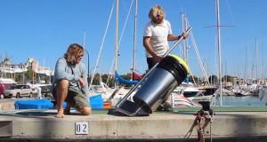 SEABIN – UN BIDONE MARINO PER LA PULIZIA DEI MARI