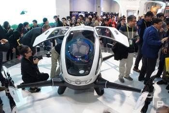 EHANG 184 - Il primo drone per trasporto persone