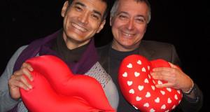 San valentino il primo bacio Andrea De la Roche e Renato Giordano (Copia)