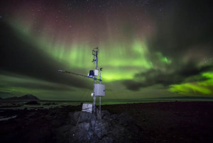 punto di osservazione al Polo Nord