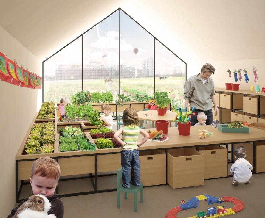 Scuola-Fattoria per Insegnare ai Bambini a Coltivare la Terra