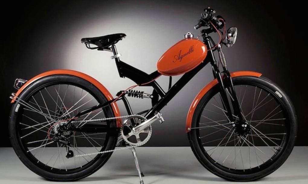 Agnelli Milano La Bicicletta Elettrica Vintage Made In Italy