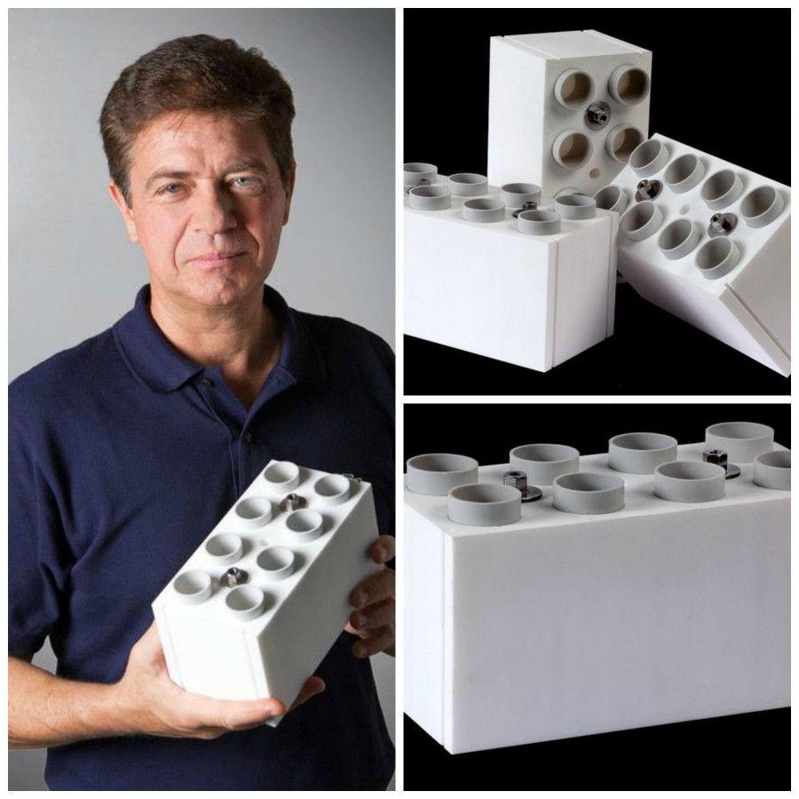 Lego giganti ingegnere italiano crea i lego reali da for Come stimare i materiali da costruzione per la costruzione di case