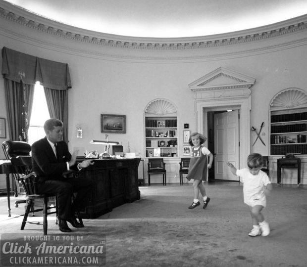 JFK e bambini POTUS