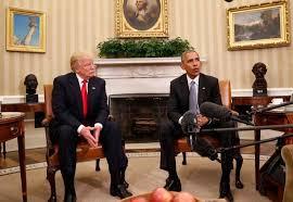 Trump e Obana POTUS