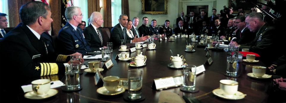 Barack Obama e Donald Trump Lo studio Ovale Essere presidente Stati Uniti POTUS