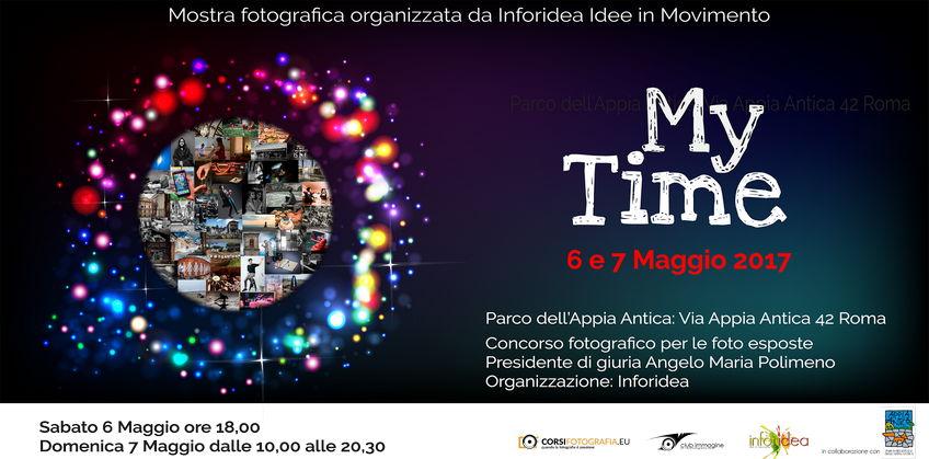 Mostra Fotografica My Time Inforidea Roma