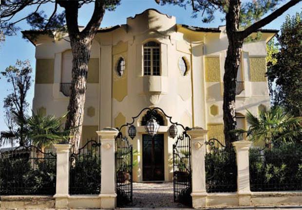 Una stagione del liberty a Riccione