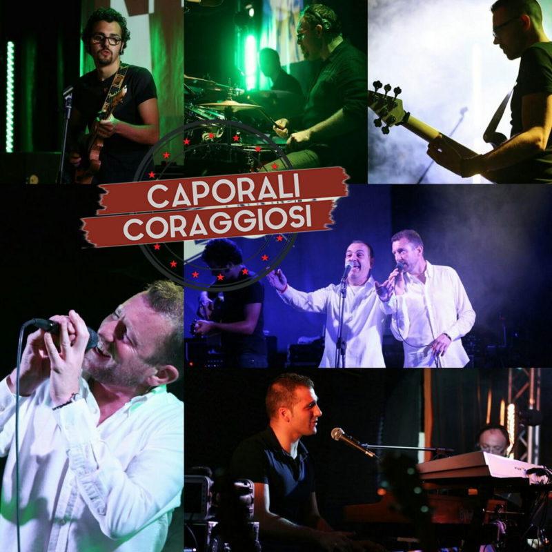 Caporali Coraggiosi, la Tribute Band che omaggia Claudio baglioni e Gianni Morandi
