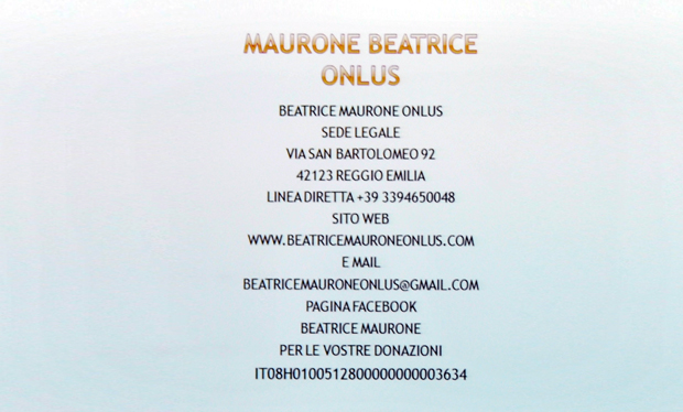 onlus Beatrice Maurone