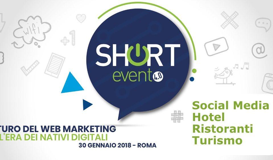 Short Evento- il futuro del webmarketing nell'era dei nativi digital