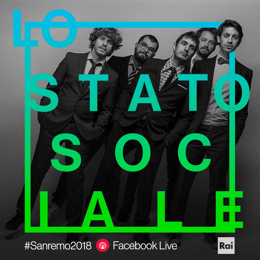 lo stato sociale Sanremo 2018