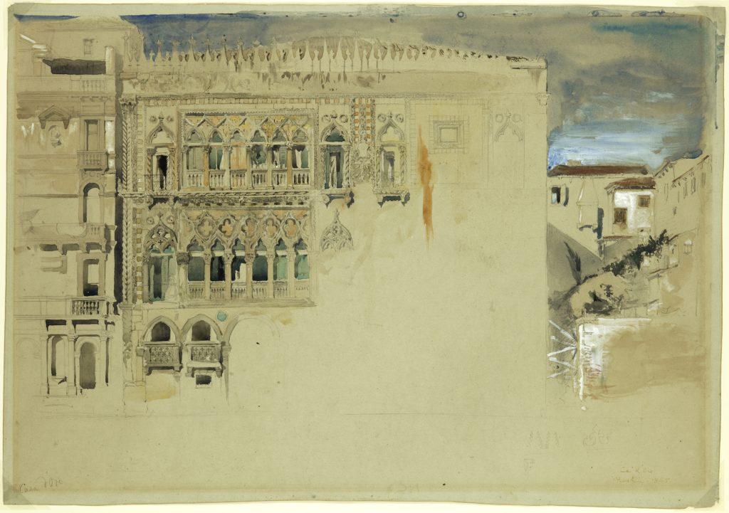 John Ruskin e le pietre di Venezia