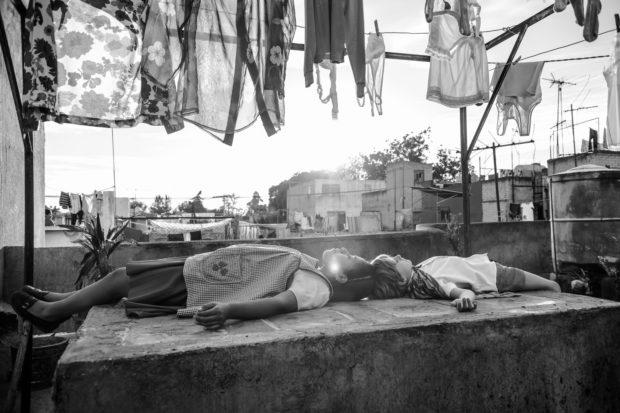 Roma, il bianco e nero di Cuaron a Venezia 75