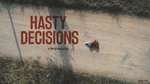 Hasty Decisions, il cortometraggio sul bullismo debutta a Cannes