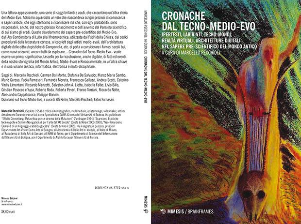copertina e retrocopertina di Cronache dal Tecno-Medio-Evo, il primo volume della trilogia